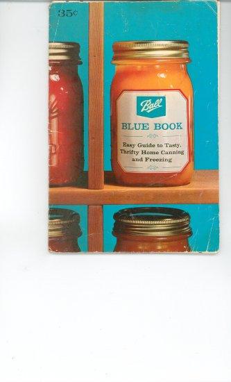Ball Blue Book Cookbook Vintage Item