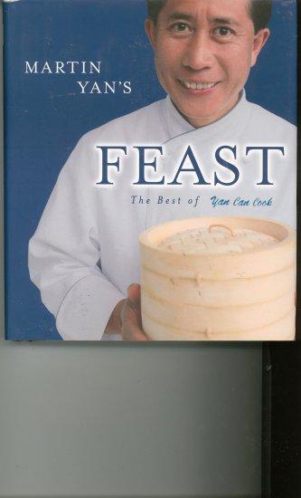 Martin Yan's Feast Cookbook Signed ?