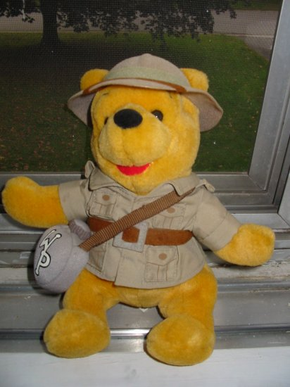 Pooh Safari Pooh Plush Toy From Walt Disney World