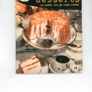 Book Of Delectable Desserts Cookbook Vintage Over 50 Years Old
