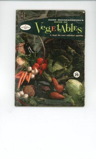 Book Of Vegetables Cookbook Vintage Over 50 Years Old