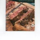 Hamburger & Hot Dog Book Cookbook Vintage Over 50 Years Old