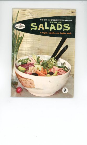 Book of Salads Cookbook Vintage Over 50 Years Old