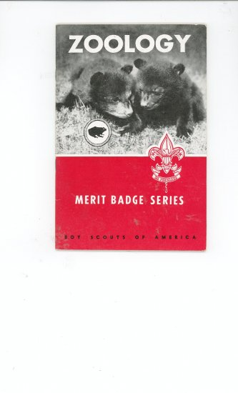 Vintage Boy Scout Zoology Merit Badge Series Book BSA