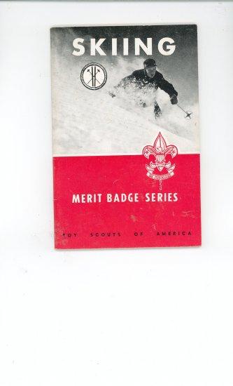 Vintage Boy Scout Skiing Merit Badge Series Book BSA