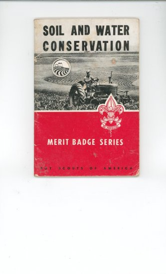 Vintage Boy Scout Soil And Water Conservation Merit Badge Series Book BSA