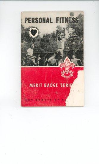Vintage Boy Scout Personal Fitness Merit Badge Series Book BSA