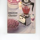 Vintage Osterizer Spin Cookery Cookbook VERY NICE Item