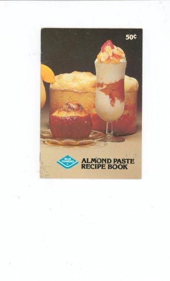 Almond Paste Recipe Book by Blue Diamond Cookbook
