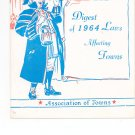Digest Of 1964 Laws Affecting Towns Association of Towns New York State Vintage Item