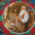 Santa In His Workshop Collector Plate Christmas 1984 Norman Rockwell