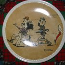 Promenade a' Paris Collector Plate by Norman Rockwell Second in Rockwell On Tour Series