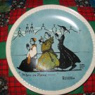 When In Rome Collector Plate by Norman Rockwell Third in Rockwell On Tour Series