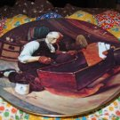 Grandpas Gift Collector Plate by Norman Rockwell First in Rockwell Golden Moments Series