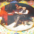 The Love Letters Collector Plate by Norman Rockwell Fifth in Rockwell Golden Moments Series