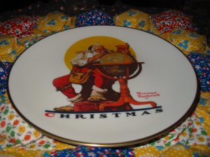Planning Christmas Visits Collector Plate Christmas 1978 Gorham Retired