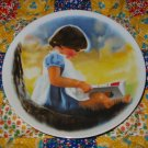 By Myself Collector Plate by Donald Zolan Third Issue in Zolans Children Series