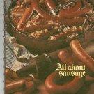 All About Sausage Cookbook by Oscar Mayer Vintage Item