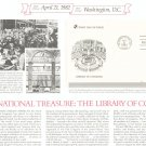 George Washington & Library Of Congress First Day Cover Stamp Lot Of 2 by Readers Digest