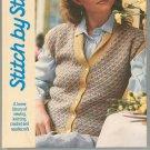 Stitch By Stitch Vol 1 Sewing Knitting Crochet Needlecraft Book 092026901X