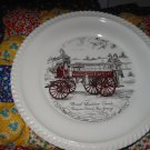 First Ladder Truck Somers Point New Jersey Souvenir Plate Vintage Item