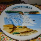 Niagara Falls Canada Souvenir Plate Marked Japan