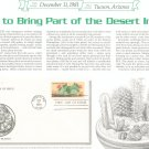 U S Desert Plants First Day Cover Stamp Lot Of 4 by Readers Digest