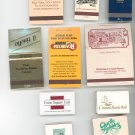 Lot Of 11 Assorted Match Book Matches Mostly New York Nice