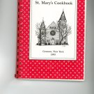 St Marys Cookbook Regional Geneseo New York