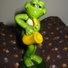 Frog Playing Saxophone Figurine Very Cute Marked Norcrest K517