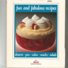 Jell-O Fun and Fabulous Recipes Cookbook 0517655217 Jello