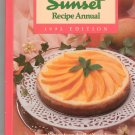Sunset Recipe Annual 1992 Cookbook 0376026936