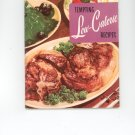 Tempting Low Calorie Recipes Cookbook by Culinary Arts Institute Vintage Item