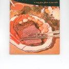 Vintage Good Housekeepings Meat Cook Book Cookbook