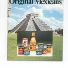 The Original Mexicans Cookbook by Heublein Inc. Vintage Item