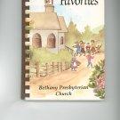 Family Favorites Cookbook Regional Church New York Vintage