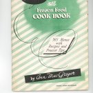 Amana Frozen Food Cook Book Cookbook Plus Vintage Item