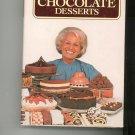 Maida Heatter's Book Of Great Chocolate Desserts Cookbook 0394503910