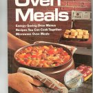 Better Homes & Gardens Oven Meals Cookbook 0696007401 Vintage First Edition First Printing