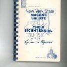 New York State Masons Salute Their Bicentennial With An Epicurean Potpourri Cookbook Regional