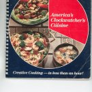 America's Cloclwatcher's Cuisine Cookbook by R.T. French Company