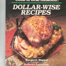 Cook To Beat Inflation Dollar Wise Recipes Cookbook by Margaret Happel 0884210499
