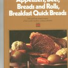 Appetizers Beef Breads Rolls Breakfast Quick Breads Cookbook by Time Life Volume 1 Vintage
