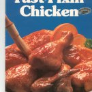 Better Homes & Gardens Fast Fixin Chicken Cookbook First Edition First Printing 0696016559