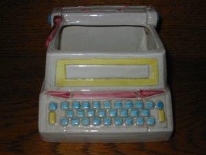 Typewriter Planter Relpo 6950 Vintage Item