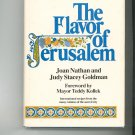The Flavor Of Jerusalem Cookbook by Joan Nathan & Judy Stacey Goldman 0316598437 Vintage