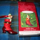 Hallmark Keepsake Ornament Fashion Afoot Complete With Box
