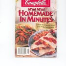 Campbells M'm! M'm! Homemade In Minutes Cookbook