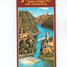 The Rhine Brochure Map Maine To Cologne With Commentary