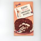 Bakers Favorite Chocolate Recipes Cookbook Vintage